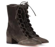 Ankle Boots Delia aus Veloursleder