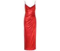 Slipdress Mars aus Metallic-Jersey