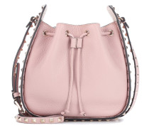 Bucket-Bag Rockstud aus Leder
