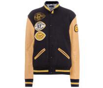 College-Jacke aus Wolle