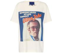 X Elton John T-Shirt aus Baumwolle