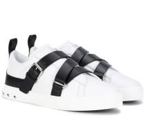 Garavani Sneakers V-Punk aus Leder