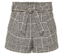 Karierte Shorts Michel aus Tweed