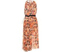 Asymmetrisches Kleid aus Chiffon