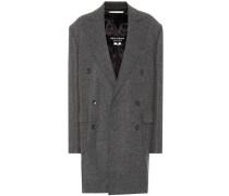 Mantel aus Wolle