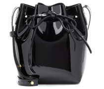 Bucket-Bag Mini Mini aus Lackleder
