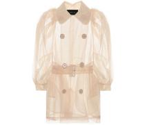 Transparente Jacke aus Tüll