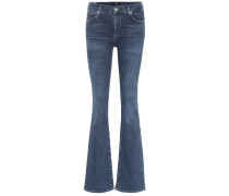 High-Rise Flared Jeans Emannuelle