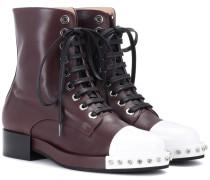 Ankle Boots Lena aus Leder