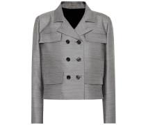Jacke aus Wolle und Seide