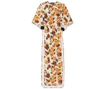 Bedrucktes Kleid mit Cut-outs