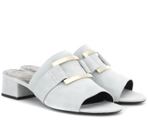 Sandalen Rabat aus Veloursleder