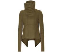 Asymmetrische Jacke Naska aus Fleece