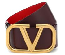 Wendbarer Gürtel VLOGO aus Leder