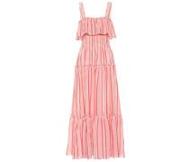 Kleid aus einem Leinengemisch