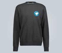 Sweatshirt mit Teddybär-Print