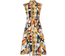 Gemustertes Kleid aus Baumwolle