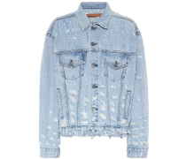 Distressed Jeansjacke Kim