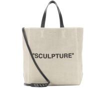 Shopper Sculpture aus Canvas