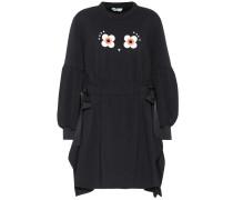 Sweatshirt-Kleid mit Baumwolle
