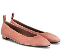 Ballerinas Lady D aus Veloursleder