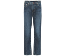 High-Rise Tapered Jeans The Phoebe
