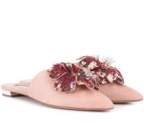 Slippers Disco Flower