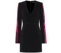 Verziertes Minikleid im Blazer-Stil