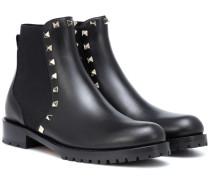 Chelsea Boots Rockstud aus Leder