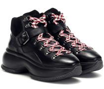 Ankle Boots Maxi I Active aus Leder