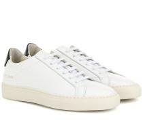 Sneakers Retro aus Leder