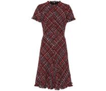 Alexander McQueen Kleid aus Tweed mit Fransen
