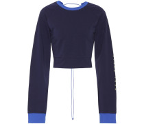 Sweatshirt aus Stretch-Baumwolle