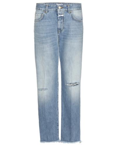 Boyfriend-Jeans Jay mit Destroyed-Effekt
