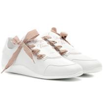 Sneakers Sporty Viv' Etiquette aus Leder