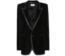 Blazer Tuxedo aus Samt