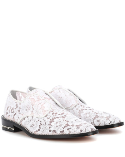 Loafers Derby Double Chain mit Spitze