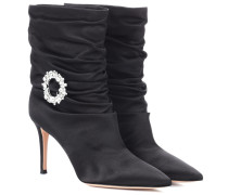 Ankle Boots Mae aus Satin