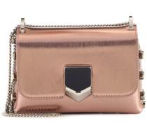 Tasche Lockett Mini aus Metallic-Leder