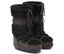 Stiefel aus Shearling