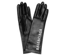 Bedruckte Handschuhe aus Leder
