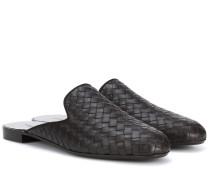 Slippers Fiandra aus Leder