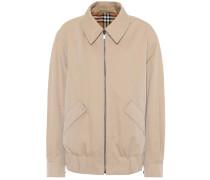 Wendbare Harrington-Jacke aus Baumwolle