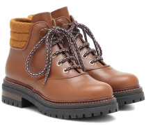 Ankle Boots Harlow aus Leder