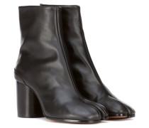 Ankle Boots Tabi aus Leder