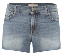 Mid-Rise Jeansshorts