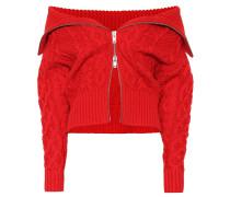 Off-Shoulder-Pullover