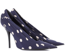 Gepunktete Pumps