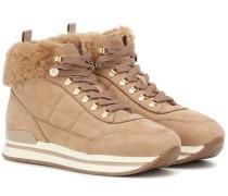 Sneakers H222 aus Veloursleder
