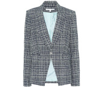 Blazer Cutaway aus Tweed